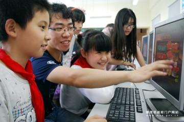 快乐学英语 大学生研发儿童英语学习软件