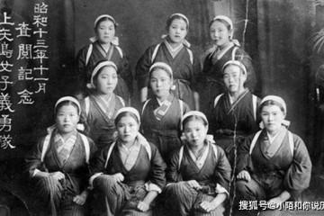 二战日本女学生主要任务便是学习生育为战士牺牲生孩子