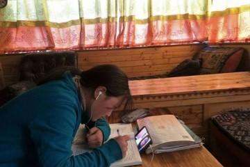 中西部8省中小学在线学习调研居家信息化学习拉大城乡教育距离