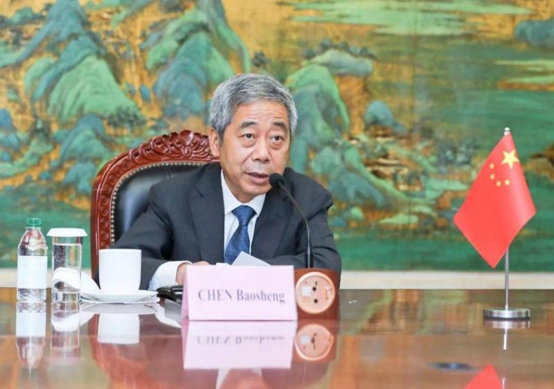陈宝生出席G20教育部长视频会议发出3个倡议